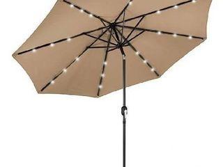 lED abccanopy 11  patio umbrella