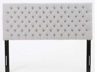 Noble House Furnishings Queen light grey