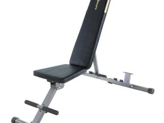 Fitness Reality 1000  Super Max  800 lb Capacity 12 Position Weight Bench   not Inspected