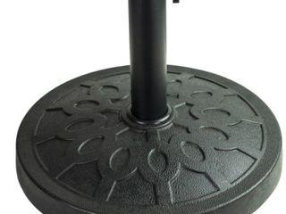 35lbs resin base for pole umbrella