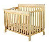 Dream On Me Ashton 4 in 1 Convertible Crib  Natural