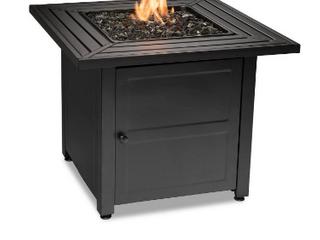 Endless Summer Gad17400sp 44 x32  Rectangular Outdoor Gas  Brown black Fire
