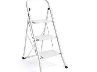 Delxo folding 3 step stool