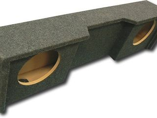 Atrend A152 12CP   Dual 12  Sealed Carpeted Subwoofer Enclosure   Fits 1999   2007 Chevrolet   GMC Silverado   Sierra Extended Cab