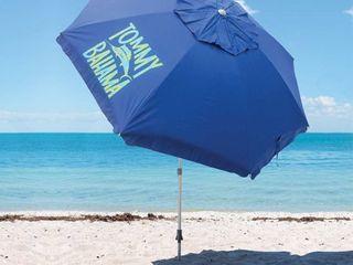Blue Tommy Bahama 8 ft Beach Umbrella