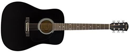 Squier By Fender Acoustic Guitar Sa 150n Squier Classical  Black P o NEEDS RESTRUNG