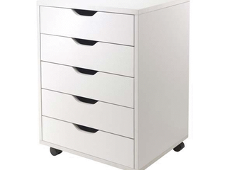 Winsome Wood Halifax 5 Drawer Cabinet  Multiple Finishes