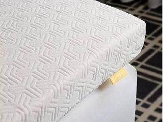 UTTU 3 Inch Red Respira Memory Foam Mattress Topper  2 layer Ventilated Design Bed Topper  Removable Hypoallergenic Soft Cover  CertiPUR US