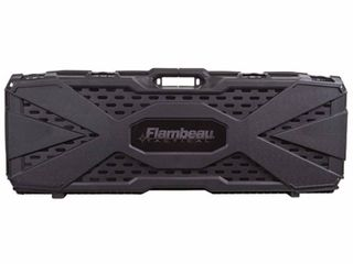 Flambeau Outdoors 6500AR AR Tactical Gun Case with ZERUST   40 x 12 x 4 in  Hard Gun Case with Zerust Magazine Pockets and Straps for Ammunition  Firearm Storage Accessory