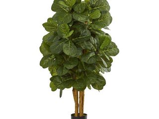 Nearly Natural 4  Fiddle leaf Fig Artificial Tree