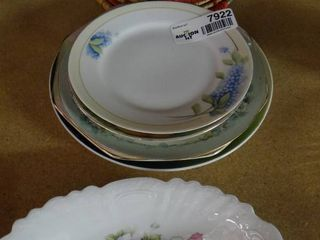 lot of Decorative Plates and Two Pot Holders