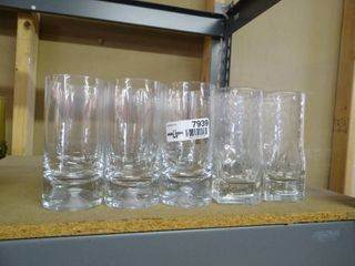 lot of 11 High Ball Drinking Glasses