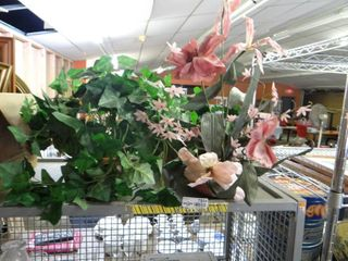 lot of Faux Flowers Plants