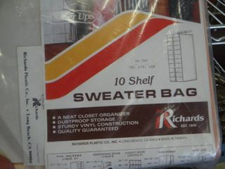 10 Shelf Sweater Bag