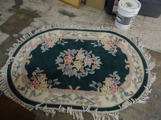 Oval Floral Boutique Rug