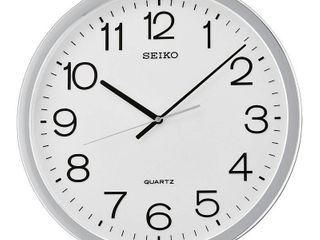 Seiko Classic Numbered Quiet Sweep Wall Clock