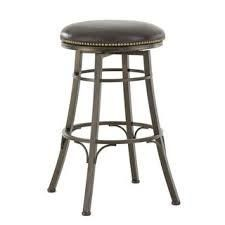 Copper Grove Tejeda Backless Metal Swivel Counter or Bar Stool  Retail 159 99