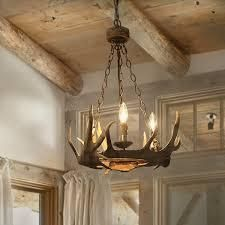 The Gray Barn Windy Bracken 3 light Antler Pendant Ceiling lights Chandelier   N A  Retail 293 49 broken