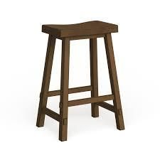 The Gray Barn Mendosa Tobacco Sawhorse Bar Stool