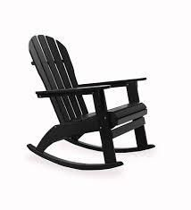 addiondock black rocking chair