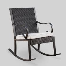 Harmony Outdoor Rocking Chair 1 only black and white