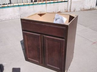 Chestnut Brown Cabinet 26 5w x 22l x 33H