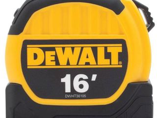 DEWAlT DWHT36105 16 ft  Tape Measures  1 1 8  Blade