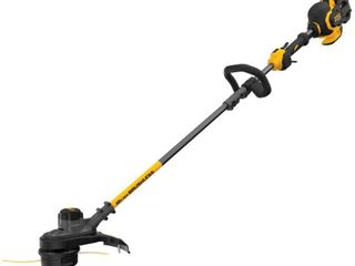 DEWAlT 15 in  60V MAX lithium Ion Cordless FlEXVOlT Brushless String Grass Trimmer with  1  3 0Ah Battery and Charger Included