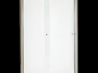 Ovation 48 in  Framed Bypass Shower Door in Satin Nickel