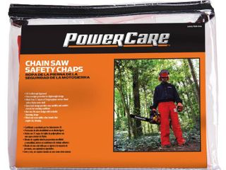 Powercare Pro Saw Safety Chaps  Orange