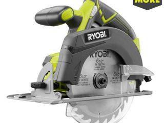 Ryobi 18 Volt ONE  6 1 2 Inch Cordless Circular Saw  Tool Only   New Open Box