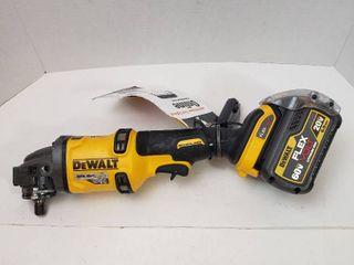 DEWAlT Flexvolt 60V Cordless 4 5 angle grinder