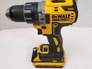 DEWAlT 20 Volt MAX XR li Ion Cordless Brushless Drywall Screw Gun