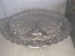 Mikasa Garden Terrace Footed Cake Plate 12 Inch