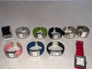 lot of 10 Watches
