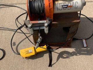 Warn Works 1500 AC Winch Working