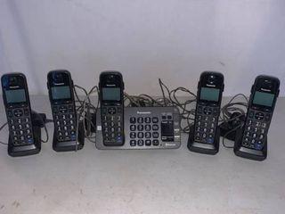 Panasonic 5 Phone System With Bluetooth Capability