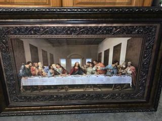 The last Supper Picture Plastic Frame