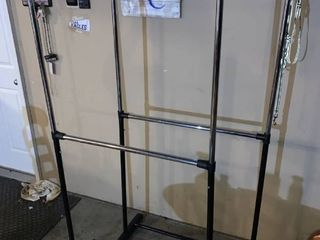 2 Collapsible Clothes Racks