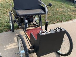 1896 Ford Quadricycle Replica Buggy Working.