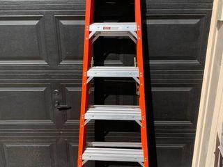 Werner 6 Foot Fiberglass Step ladder 300 lb