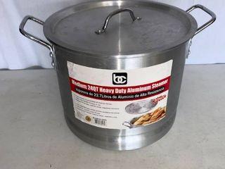 Medium 24 Qt  Heavy Duty Aluminum Steamer