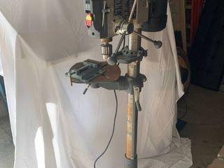 Rigid Drill Press 15501 Working