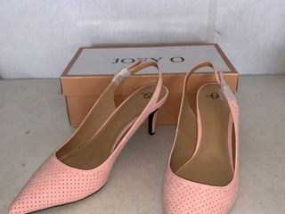 Pair of Pink Size 11M Joey O Heels