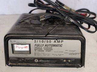 Schumacher 2 10 50 Fully Automatic Trickle Charger Works