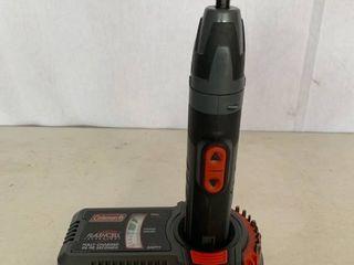 Coleman Flashcell 5 4 Volt Electric Screwdriver Works