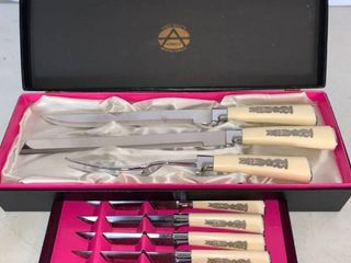Set of Armack Carving and Steak Knives
