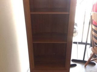 Nice Wooden 3 Shelf With Storage Drawer In Good Condition