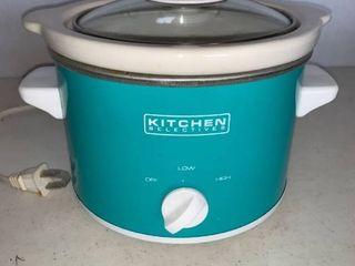 Kitchen Selectives 1 5 Quart Crock Pot Works