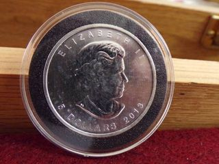 2013  5 SIlVER MAPlE 1OZ  UNCIRCUlATED